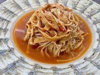 茄汁豆皮金針菇|全素