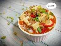 麻婆豆腐(簡單煮)便當菜懶人料理中華豆腐