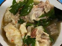 Udungku麵疙瘩(搭配山柚嫩葉)