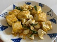 金沙豆腐(最單純的那種)