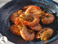 香煎草蝦排