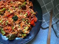 茄汁鮮蔬豆包|10分鐘素食