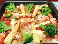 【🍤🥫紅醬燉飯 3人份】(烤箱版本)
