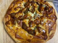 牛肉火腿起士pizza(氣炸鍋)