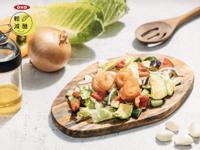 減醣燻鮭魚酪梨檸檬沙拉