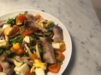 <健康>日式豚肉水菜溫沙拉