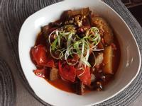 蕃茄燒茄子(老飯骨)