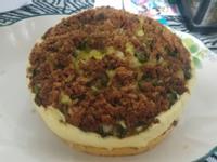 蔥花肉鬆蒸蛋糕