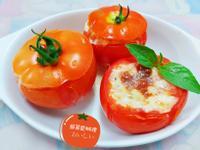 焗烤蕃茄海鮮盅