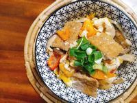 鹽滷豆腐鮮蔬丼ー超簡單