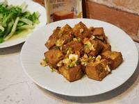 金沙滷豆腐