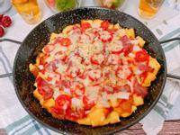 起司培根番茄吐司披薩