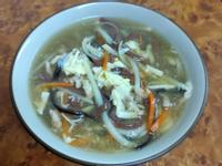 竹筍料理-酸辣湯
