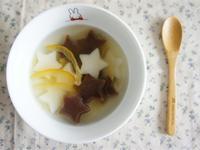 柚子茶星星湯圓