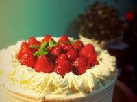 天使~日劇的草莓鮮奶油蛋糕
