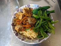 素食麻婆油豆腐冷麵