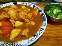 營養滿分鮮甜雞肉咖喱