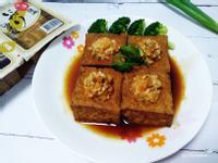 油豆腐鑲蝦肉