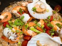 海鮮菇菇燉飯