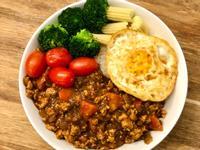 咖哩雞肉醬飯(低卡雞胸肉減醣版)