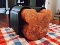 小熊巧克力吐司🐻(三能動物造型吐司盒)