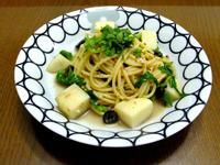 <總會有辦法的>馬鈴薯鯷魚芝麻葉義大利麵