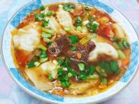 麻辣牛肉湯餃(簡易版)