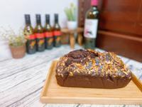 巧克力花生磅蛋糕