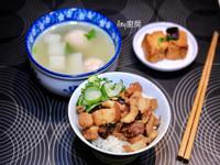 手切香菇滷肉飯