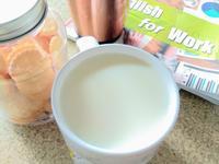 用電鍋+果汁機做豆漿~