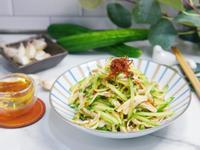 XO醬涼拌黃瓜雞絲【李錦記XO醬】
