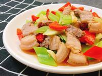 鹹豬肉炒西芹