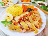 海南雞薑黃飯(電鍋版)