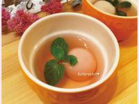粉紅系玫瑰芝麻湯圓