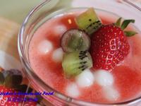 草莓鮮果湯圓