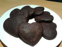 手工巧克力心型餅乾