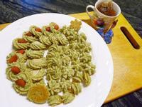 海苔起司擠花餅乾(+豆渣)