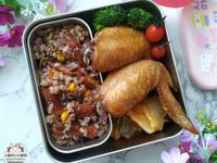柚香鰻魚紫米炊飯★罐頭鰻魚變身美味炊飯