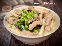 香菇肉絲竹筍粥 (電鍋版)