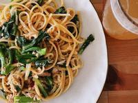 格蘭菜蒜味鮪魚檸檬義大利麵