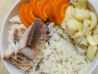 【副食品】鯛魚燕麥粥