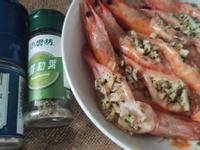 5分鐘上菜-清蒸羅勒油蒜蝦