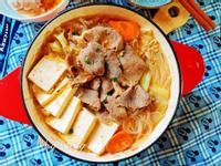 日式牛肉壽喜燒