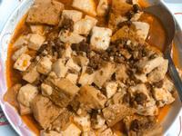 麻婆豆腐(肉醬罐頭版)