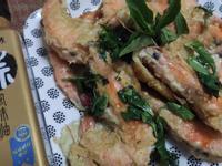 塔香蒜味全蝦餅