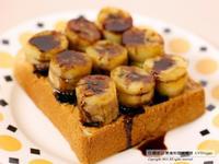 香蕉巧果厚片吐司🌿無奶蛋料理