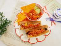 超簡單「莎莎醬」搭配燒肉吐司好開胃!!