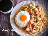 鮮蝦雞丁茄汁燴飯