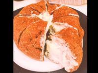 生酮版韓式爆漿奶油糖霜八重瓣麵包