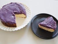 紫地瓜巴斯克蛋糕